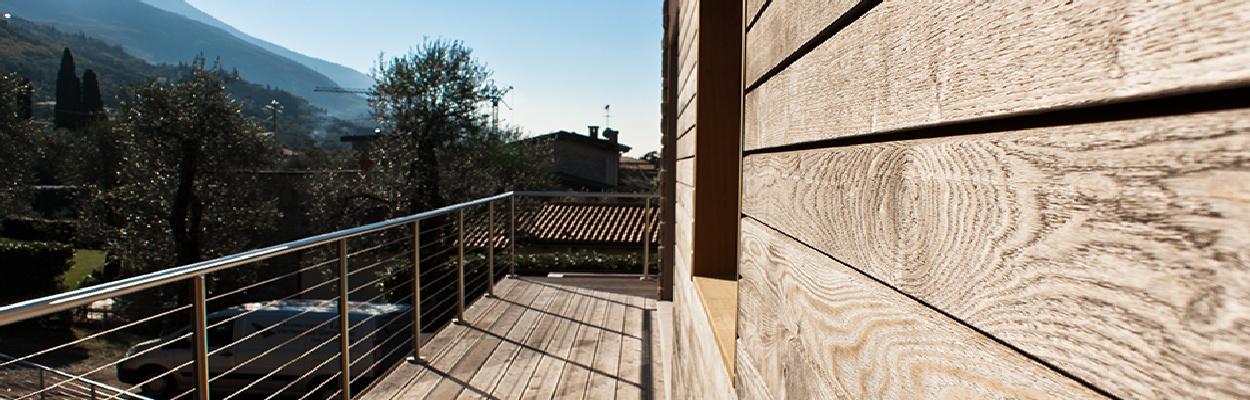Jove Rivestimenti in legno Frassino TermoTrattato Malcesine