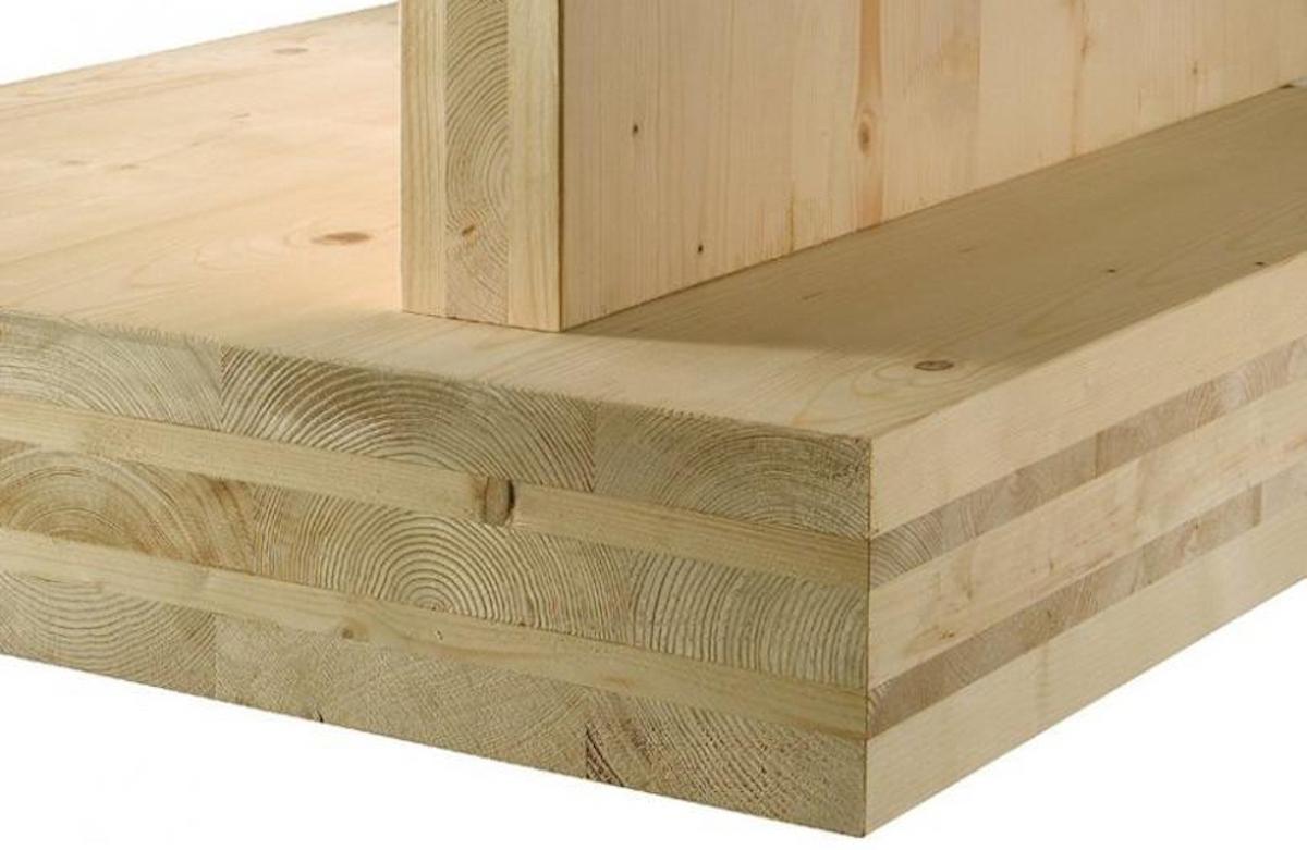 Xlam per le case prefabbricate in legno jove for Case legno xlam