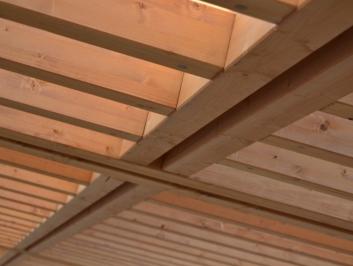 Struttura in legno lamellare – Bagni a Ripoli (FI)