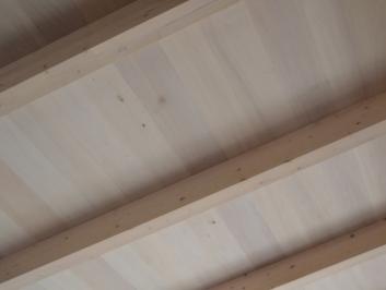 Struttura in legno lamellare <br/> Castelnuovo Magra (MS)