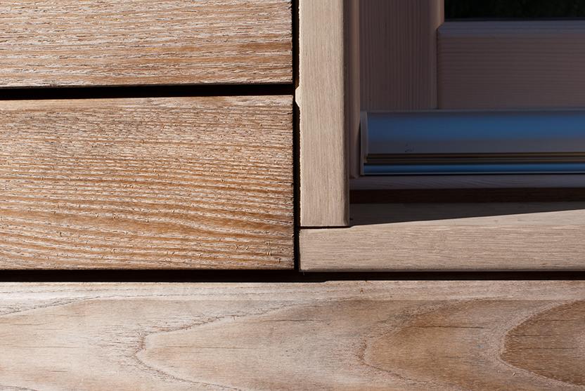 Casa prefabbricata con struttura e rivestimento in legno  Jove