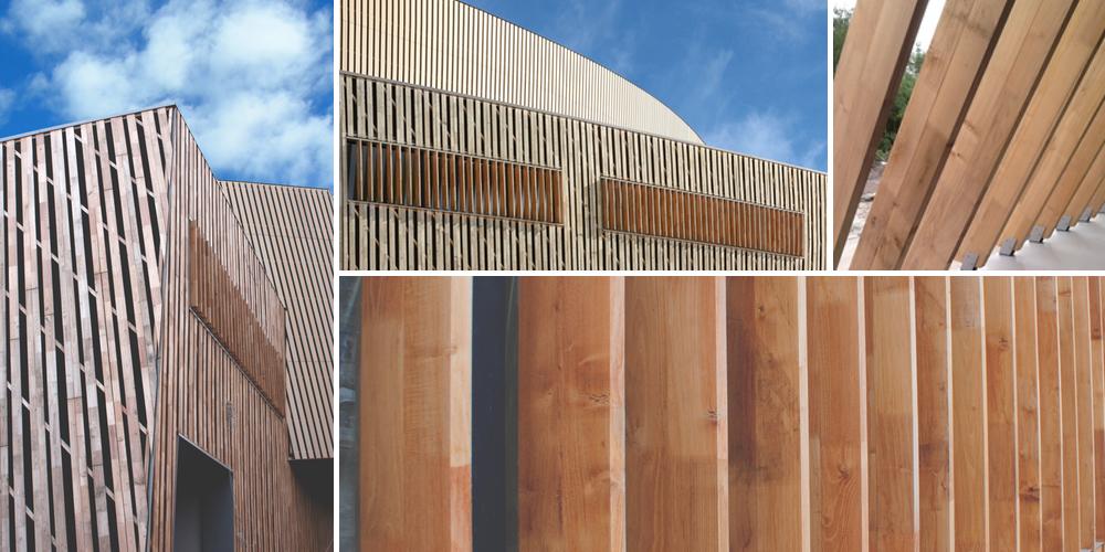 Rivestimento in legno micx progetto di daniel libeskind for Opzioni di rivestimenti esterni in legno
