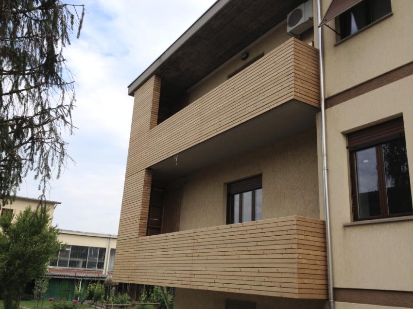 Rivestimento Esterno Casa : Rivestimento in legno per esterno abete termotrattato jove