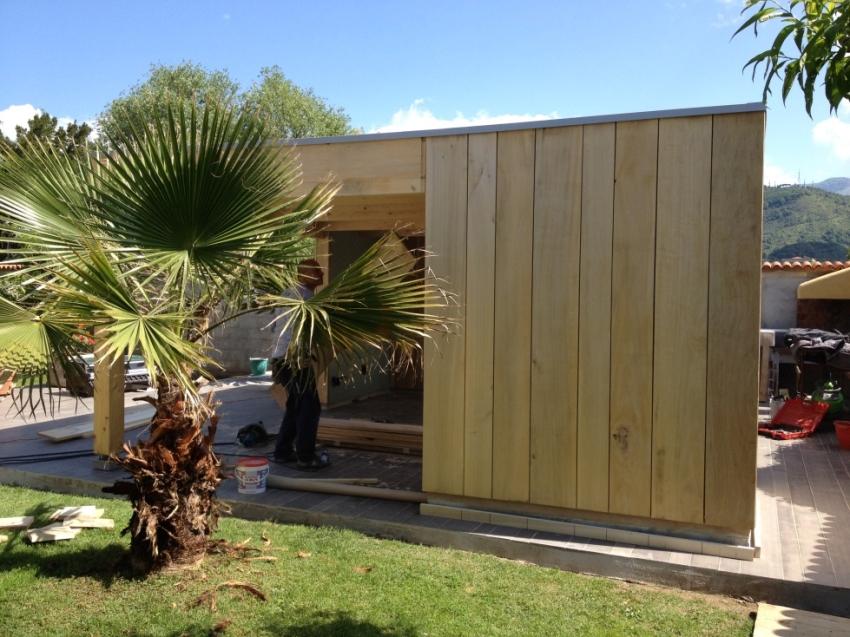 Rivestimento Casa In Legno : Casa prefabbricata in legno e rivestimento in pioppo jove