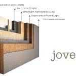 render struttura in legno coibentazione jove