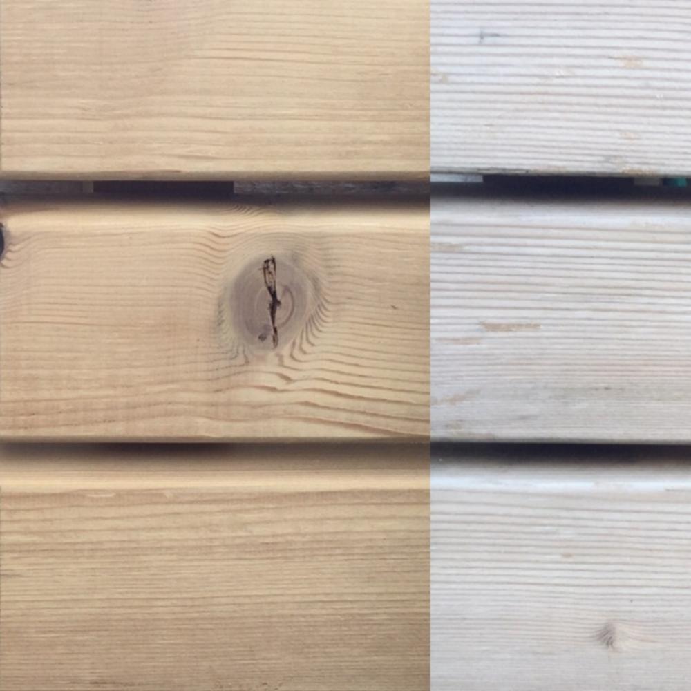 legno termo-trattato abete termo-trattato ossidazione dopo 6 mesi
