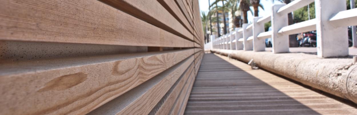 rivestimenti in legno naturale di cedro rosso canadese
