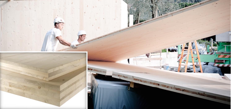Sistemi costruttivi in legno Xlam strutture portanti in legno Jove Spa
