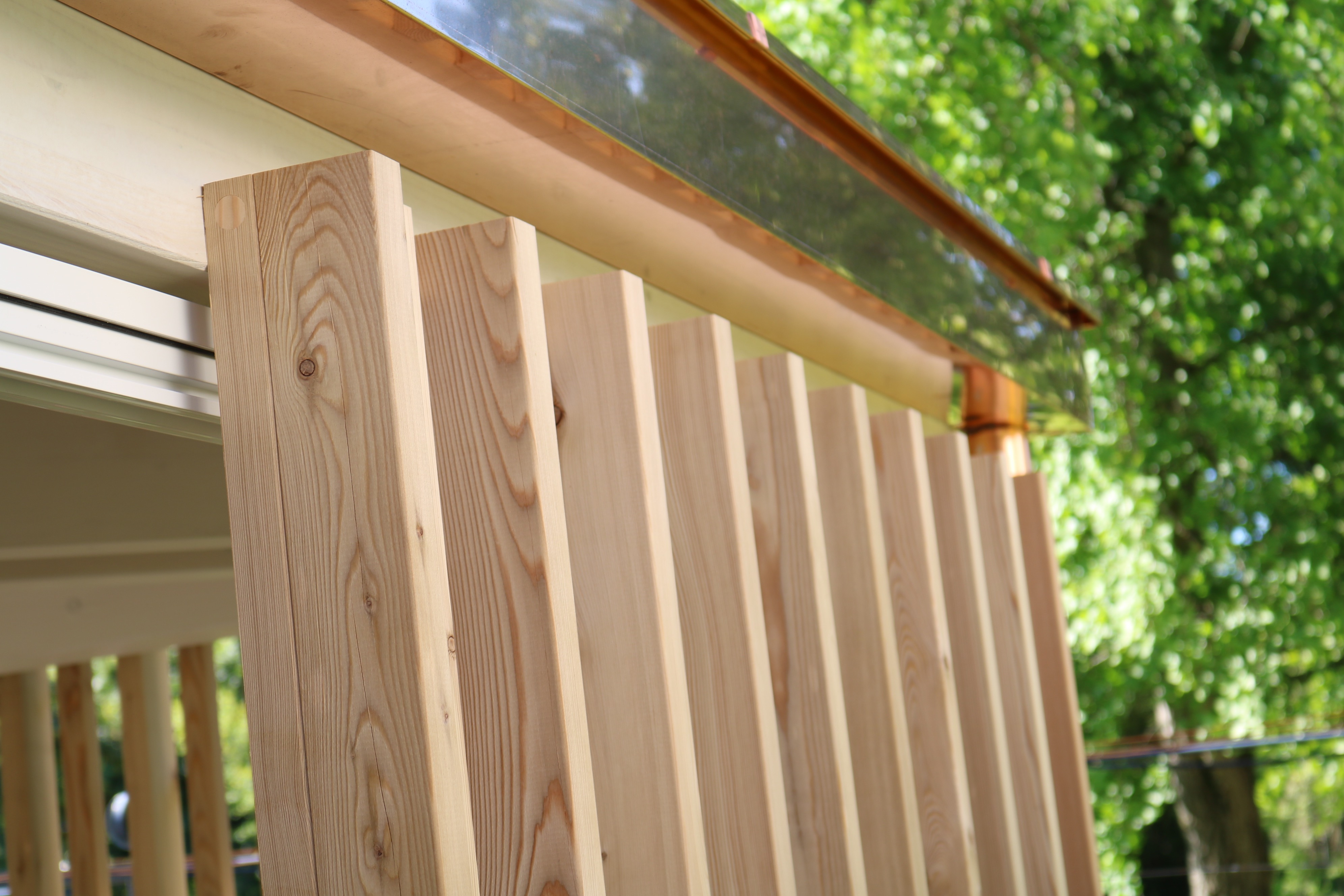 Gazebo in legno da giardino 5 stars jove for Legno da rivestimento pareti