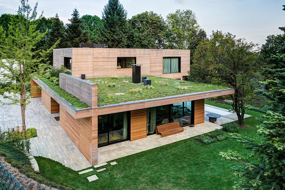 Rivestimento Casa In Legno : Casa prefabbricata ecosostenibile in legno monza e brianza una