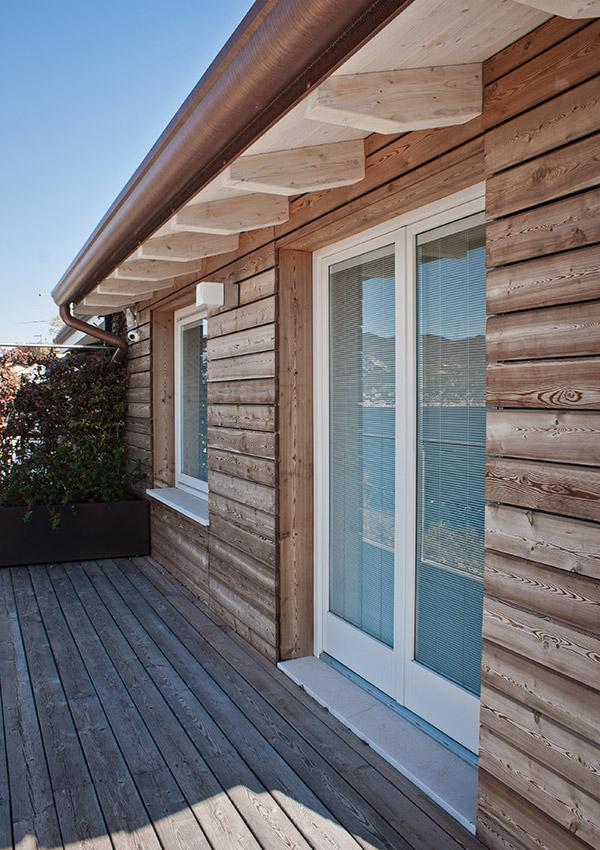 Casa prefabbricata in legno torri del benaco vr jove - Ampliare casa con struttura in legno ...